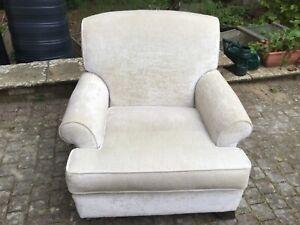 MultiYork cream armchair- good condition