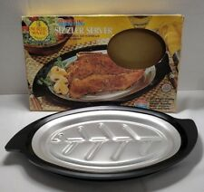 Nordic Ware Servo King Sizzler Server Steak Pan 310 Bakelite Insulates Hot/cold
