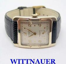 Vintage 10k Goldfilled WITTNAUER Mens Wind Watch 1940s Cal.10S* EXLNT* SERVICED