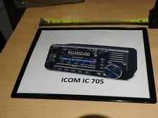 ICOM  IC 705   MOUSE MAT    IDEAL SHACK GIFT   HAM RADIO