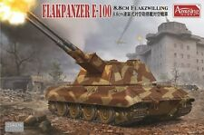 AMUSING HOBBY 1/35 8.8cm Flakzwilling Flakpanzer E-100 #35A016
