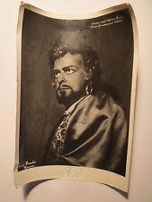 Carlos Guichandut como Otello en Theatro dell 'opera romaníes/foto autógrafo/ROM