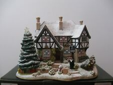 "Lilliput Lane L2650 ""The Three Kings"" Snow Cottage - Mib with deed. Illuminated"