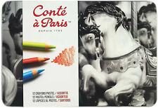 Conte a Paris Pastel Pencil Set - Assorted Set of 12