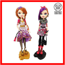 Ever After High Poppy Holly O Hair Dolls Twin Bundle Daughters Rapunzel Mattel