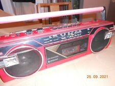 More details for hitachi red boom box