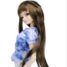 "Dollmore 1/3 BJD dollfie SD wig  (8-9)"" Pony Tail Dream Wig (LT.Brown)"