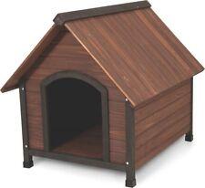 New Dockocil 25038 Ruff-Hauz 50-90 Lb Dog Dog House Wooden Peak Roof 3718517