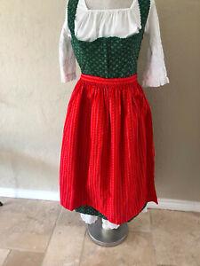 DIRNDL Outfit Dress Tostman Trachten Octoberfest Set size s/m. Vintage