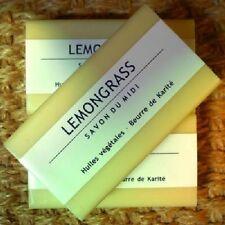 Savon du Midi 3er Pack Lemongrass Karité-Seife, 3x100 Naturkosmetik Sheabutter