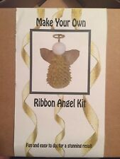 Craft Make your own Ribbon Angel kit Instructions and contents inc