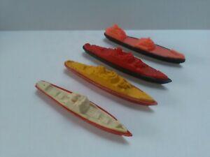 SANELLA PLASTIC MINIATURE  SHIPS