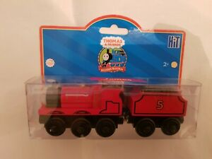 Thomas The Tank & Friends JAMES WOOD WOODEN NEW IN BOX 2006 LEARNING CURVE