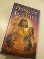 VHS  EL PRINCIPE DE EGIPTO    DISNEY  (coleccionistas)