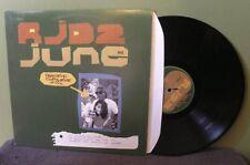 """RJD2 """"June"""" 12"""" OOP Def Jux El-P LP DJ Shadow MHZ Orig"""