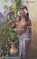 AFRICA ETHNIC TYPE D'ORIENT - RISQUE  NUDE GIRL - LENHERT & LANDROCK, TUNIS 741