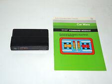 CAR WARS cartridge & manual TI-99/4A Texas Instruments game