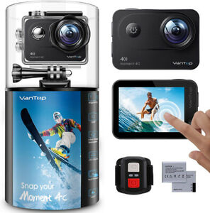 VanTop Moment 4C 4K/60FPS Action Camera with EIS, Sony Sensor, Timer, Burst, etc