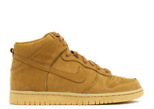 Nike YOUTH Dunk High Premium GS Flax SIZE 5Y FITS WOMEN'S 6.5 BRAND NEW