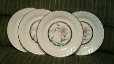 Corelle Corning Ware TIGER LILY Dinnerware Retired Set of 4 Salad Plates