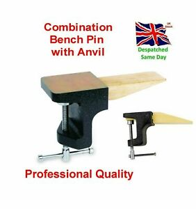 Bench Pin with Anvil Combination Jewellers and Hobby Kit Superior QUALITY