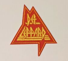 Def Leppard Embroidered Iron-on Heavy Metal Band Patch