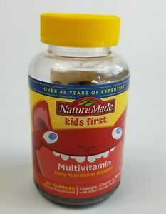 Nature Made Kids First Multivitamin - 90 Gummies - Orange/Cherry/Mixed Berry