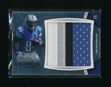 RYAN BROYLES 2012 BOWMAN STERLING RELIC JUMBO RC PATCH 86/99 *DETRIOT LIONS*