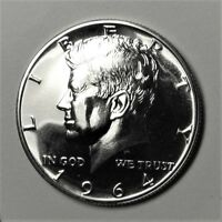 1964 SILVER PROOF KENNEDY HALF DOLLAR