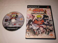 Naruto Ultimate Ninja (Playstation PS2) Game in Case Excellent!