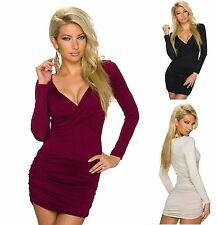 Figurbetonte Damenblusen, - tops & -shirts aus Jersey ohne Muster