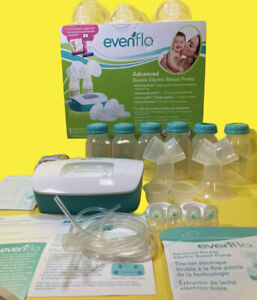 Evenflo advanced double electric breast pump Model 2951 Plus Extras