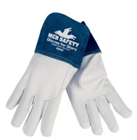 2 Pr MCR Safety XL 4850 Premium Goatskin Leather Mig Tig Welding Gloves X-Large