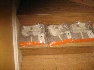 ORLA  KIELY   HAND TOWELS (3)  GIANT ABACUS FLOWER , MUSHROOM,   50 X 90 CMS