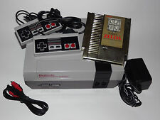 NINTENDO NES SYSTEM CONSOLE WITH GUARANTEE, NEW 72 PIN & THE LEGEND OF ZELDA