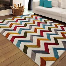 Contemporary Hand Tufted Woolen Living Bedroom Hall Area Rug Carpet 5 x 7 ft