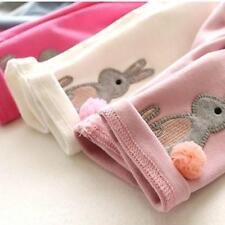 Baby Girls Kids Winter Warm Stretch Thick Plus Velvet Leggings Trousers Pants