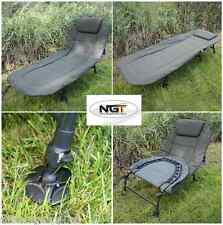 NGT CARP FISHING 6 LEG RECLINER BEDCHAIR + CAMO SLEEPING BAG + COMPRESSION BAG