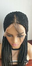Braided Wig, Lace Front, Cornrows Braids,