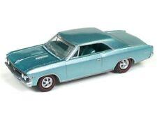 1966 Chevrolet Chevelle  Artesian Turquoise  **RR** Auto World 1:64 OVP   *SALE*