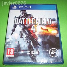 BATTLEFIELD 4 NUEVO Y PRECINTADO PAL ESPAÑA PLAYSTATION 4 PS4