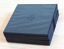 8 slim CD / DVD cases