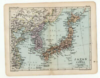 Antique Map Of Japan George Philip  London Geographical 1903