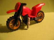 Lego Motorrad Crossbike 50859/50860 rot z. B. für 60042 City