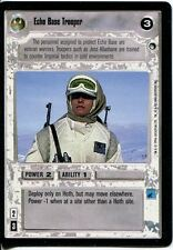 Star Wars CCG Hoth Black Border Echo Base Trooper