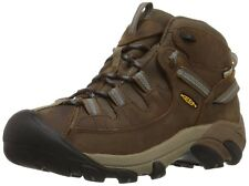 KEEN Targhee II Mid WP Women's Brown Leather Hiking Trail Shoes BOOTS 1004114 10.5
