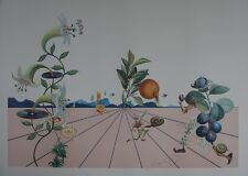 """SALVADOR DALI : """"Flordali I"""" LITHOGRAPHIE SIGNEE ET N° # FIELD 233 #ARCHES #1981"""