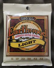 Earthwood Acoustic Ernie Ball Guitar Strings 11-52 Delivered By Guitars Wales