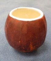 Cool Old Vintage Hawaiian Ceramic Tiki Bar Coconut Mug Hawaii Luau Surfer Party