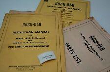 Rock Ola 1455 Englisch Manual Jukebox (P5091)